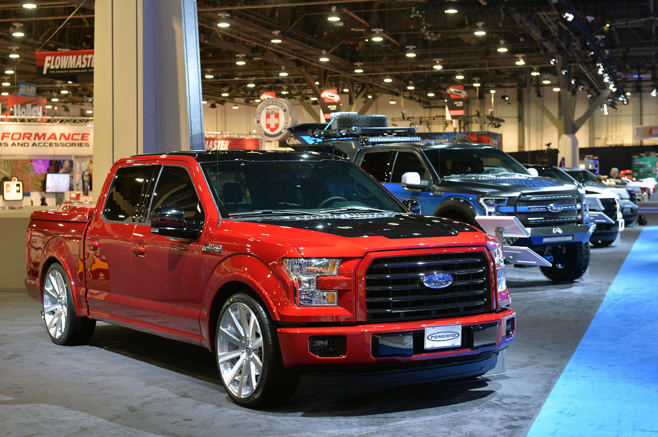 Photos of the 2015 F150 from SEMA 2014
