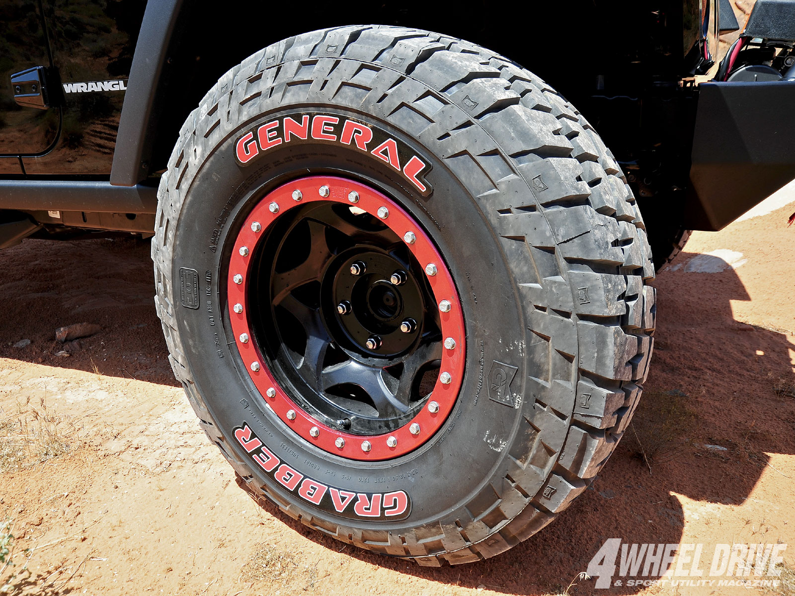 F150 General Grabber Red Lettering Tires - Page 2