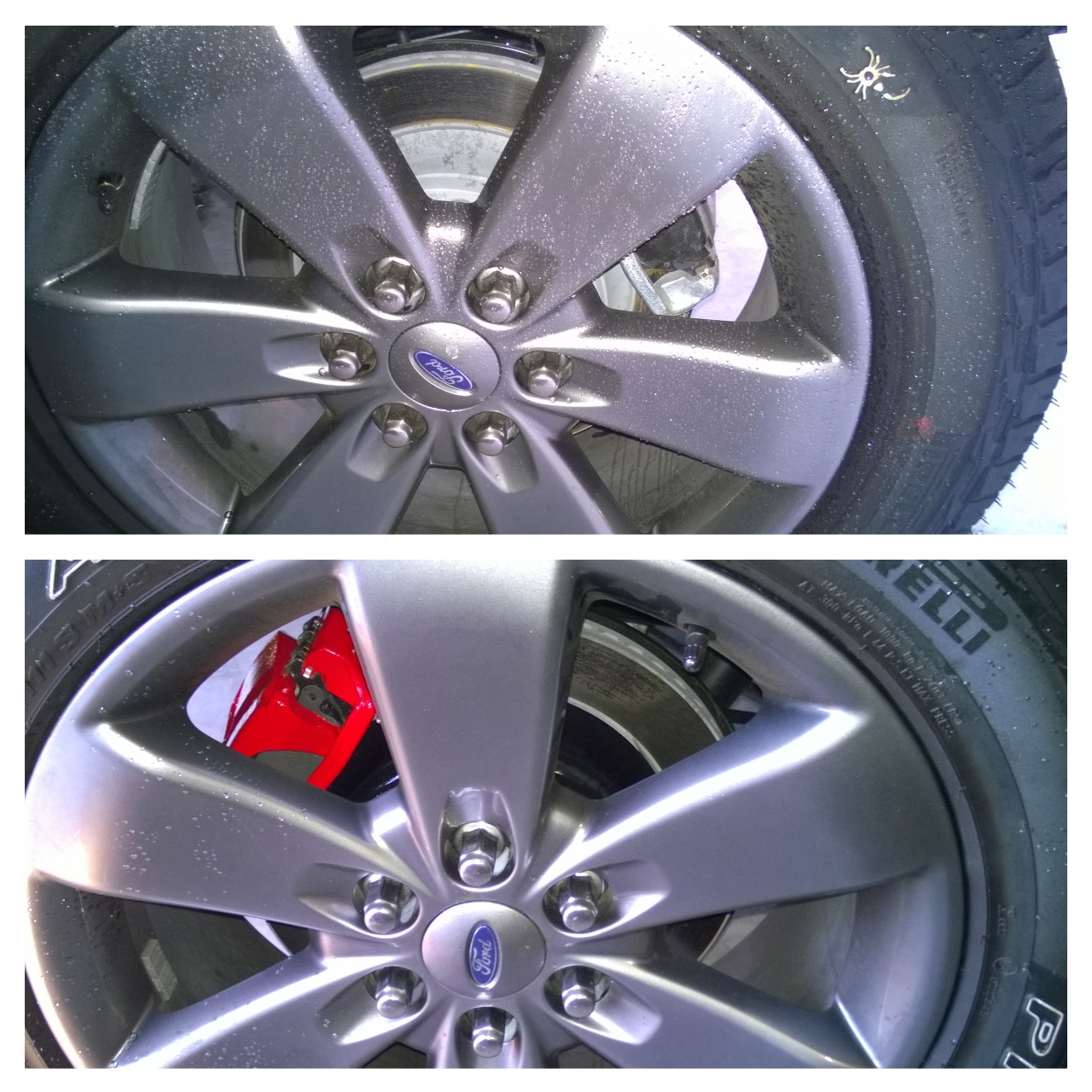 how to clean and paint brake drums