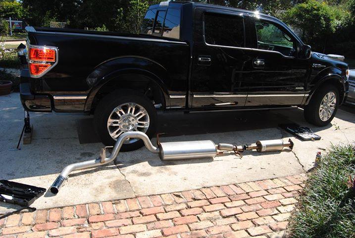 F150 Ecoboost Exhaust >> Exhaust Change