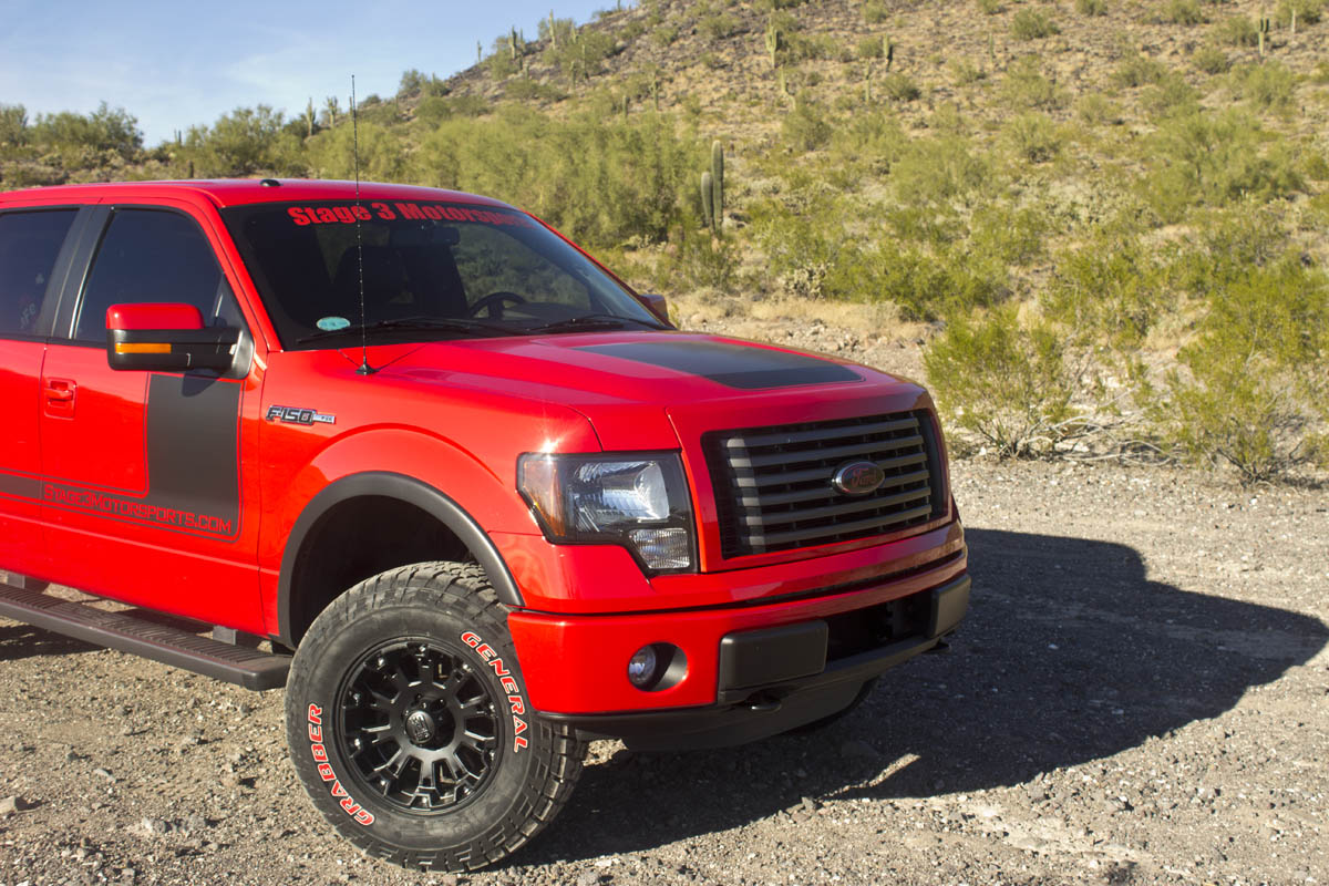 Name 2012 ford f 150 50l lift leveling kit icon suspension tires shocks struts
