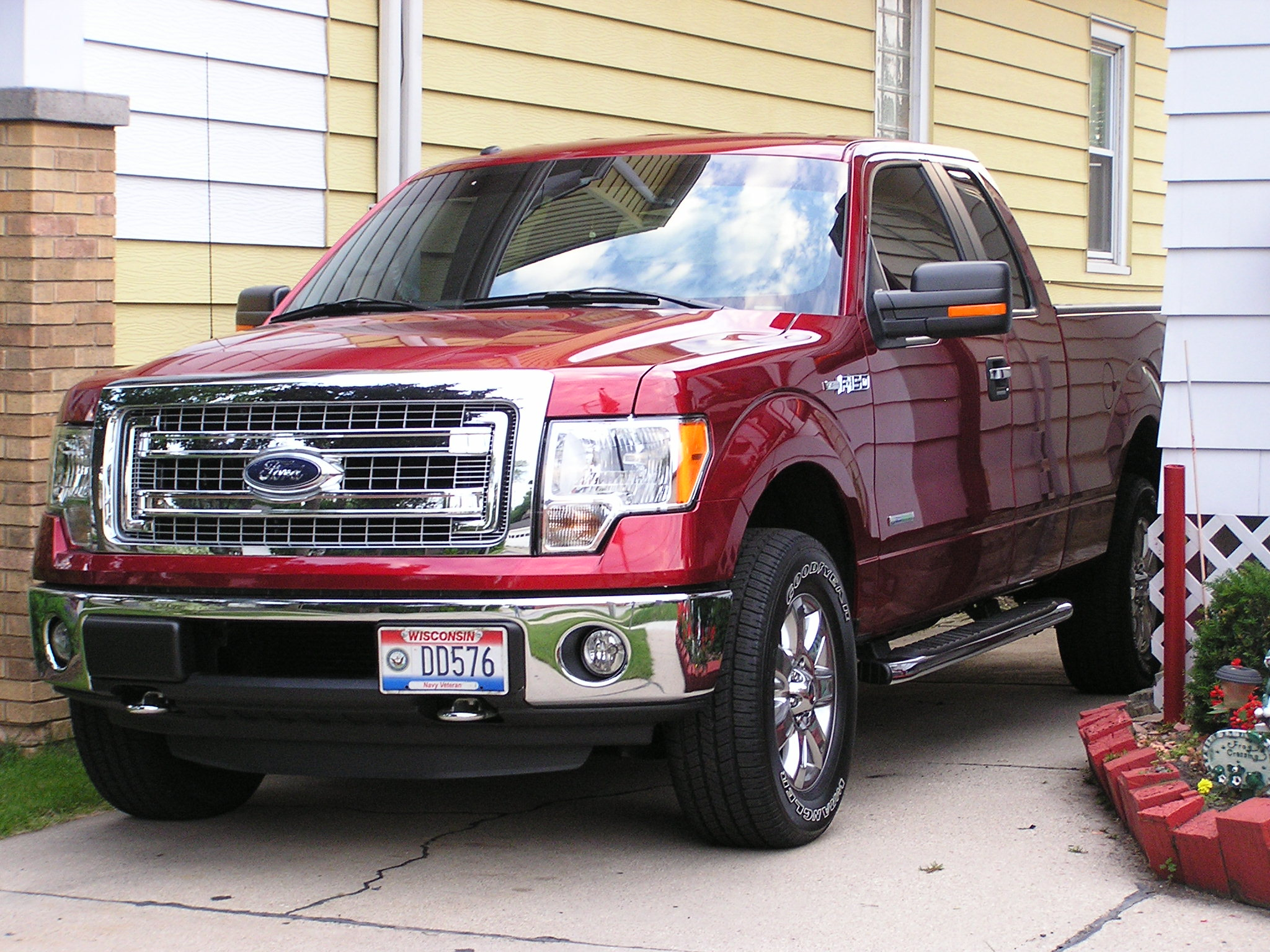 This is my ruby name 2013 f150xlt july 32013 002jpg views 7424 size race red ford f150