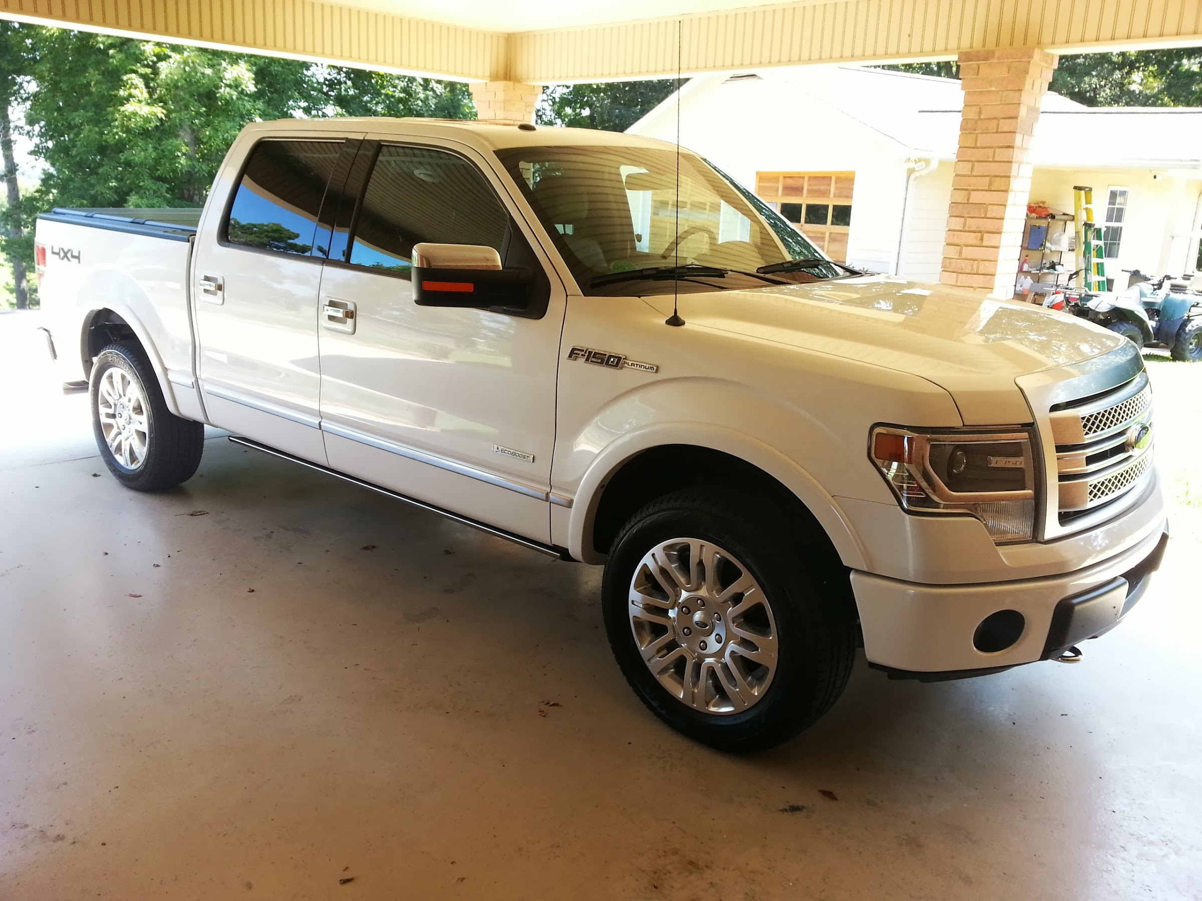 Just Purchased A New Platinum 2013 F150 Ecoboost