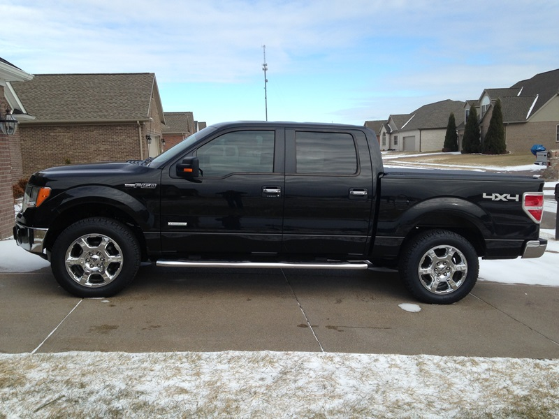 2013 F150 Ecoboost >> New Tires Installed!!