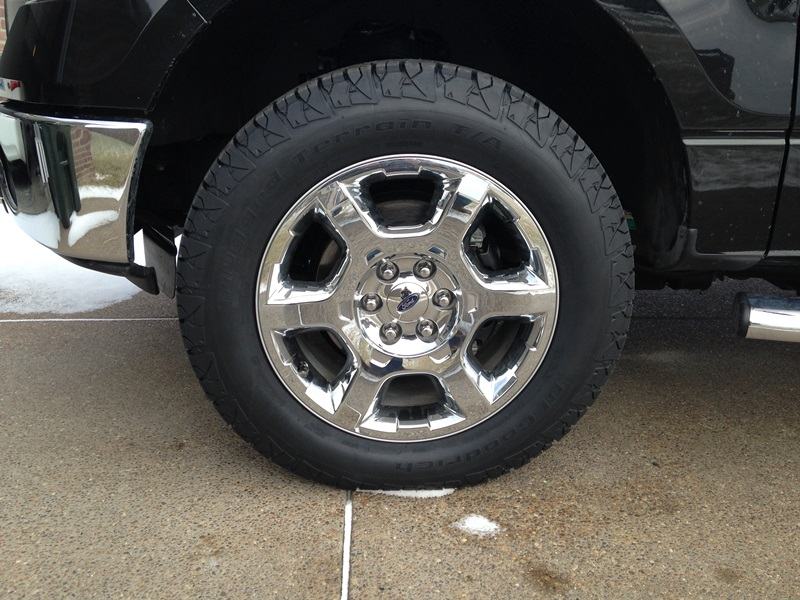 New Tires Installed