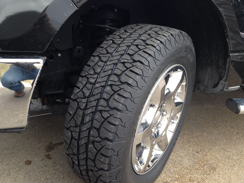 2013 F150 Tires >> New Tires Installed!!