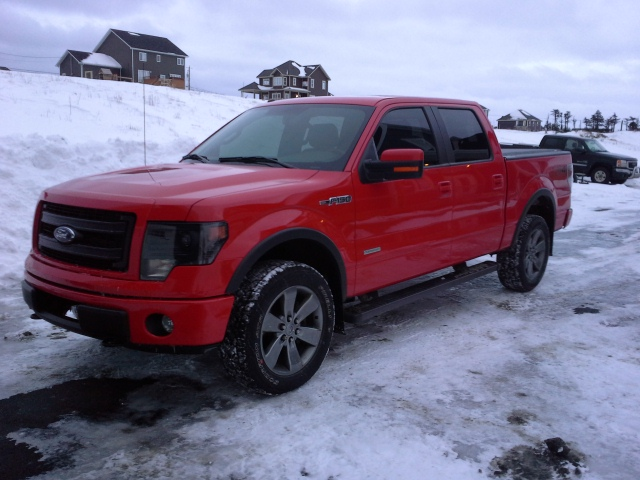 2013 F150 Fx4 Race Red