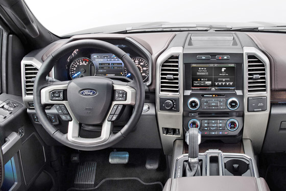 Official 2015 Ford F150 Interior Photos. 2015 ...