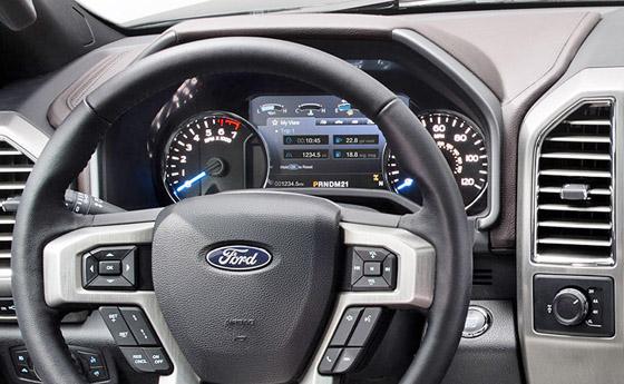 official 2015 ford f150 interior photos