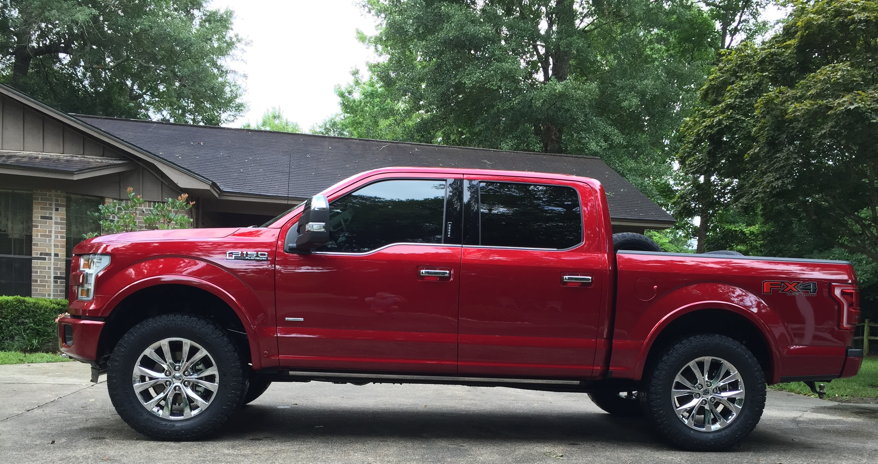 Name  Ford F  Jpg Views   Ruby Red Platinum Fx  Rough Country Level