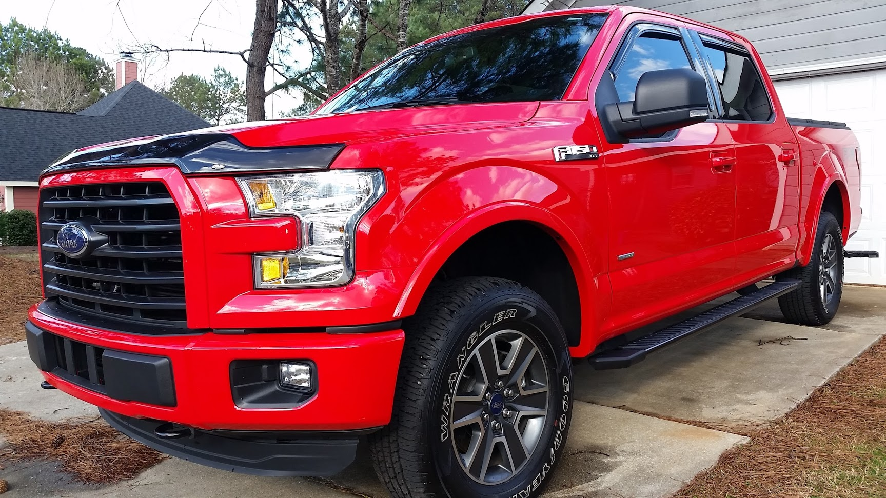 Race Red F150 >> Bug deflector - Page 2