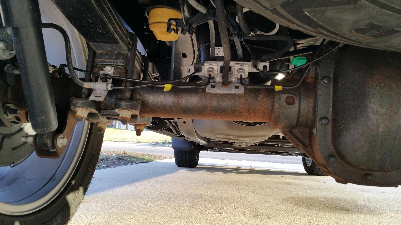Ford Dealership Colorado Springs >> 2015 Platinum premature rust.