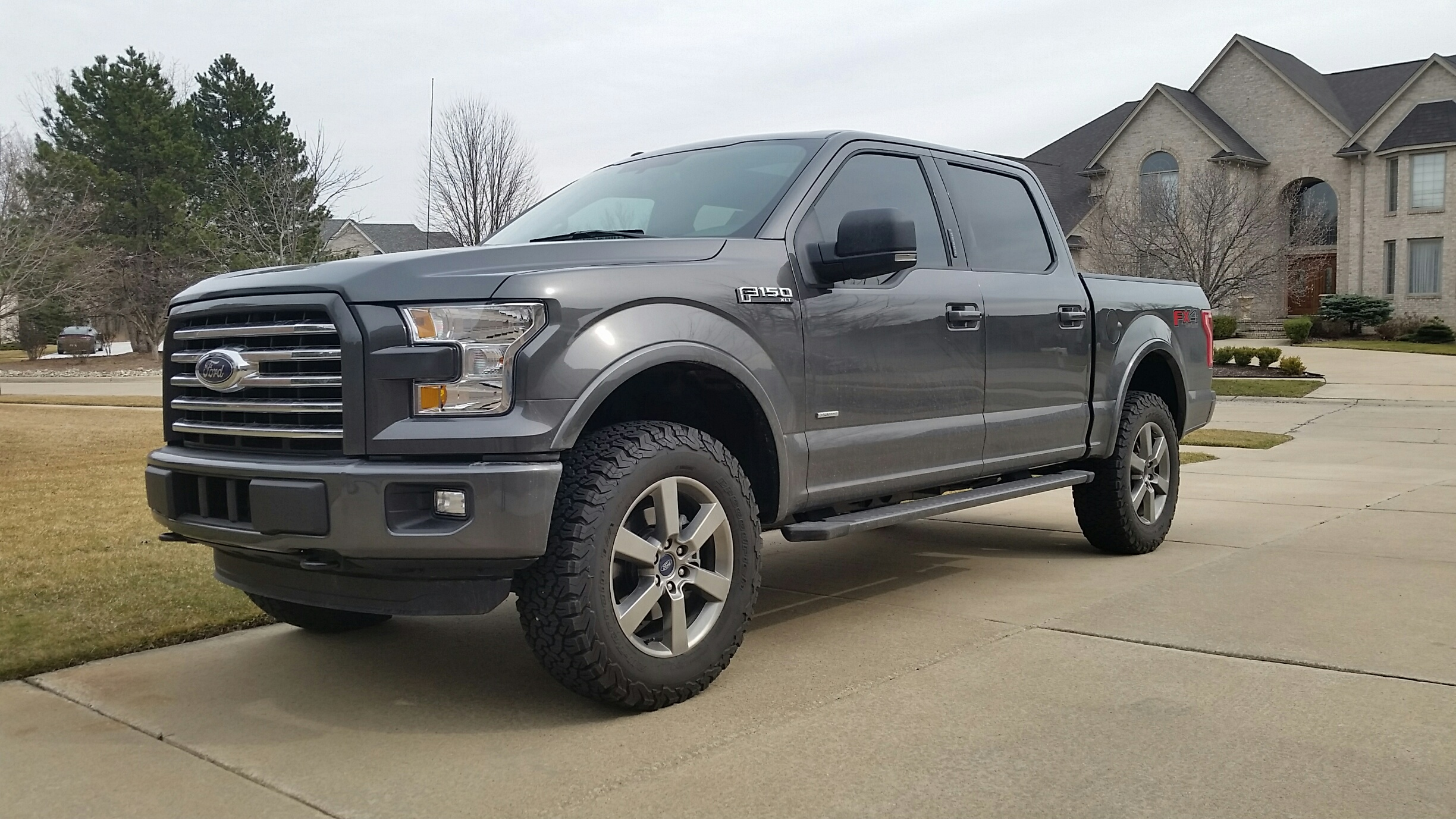 Ford Columbia Sc >> 2016 XLT SC SPORT FX4 Magnetic Build - Leveled