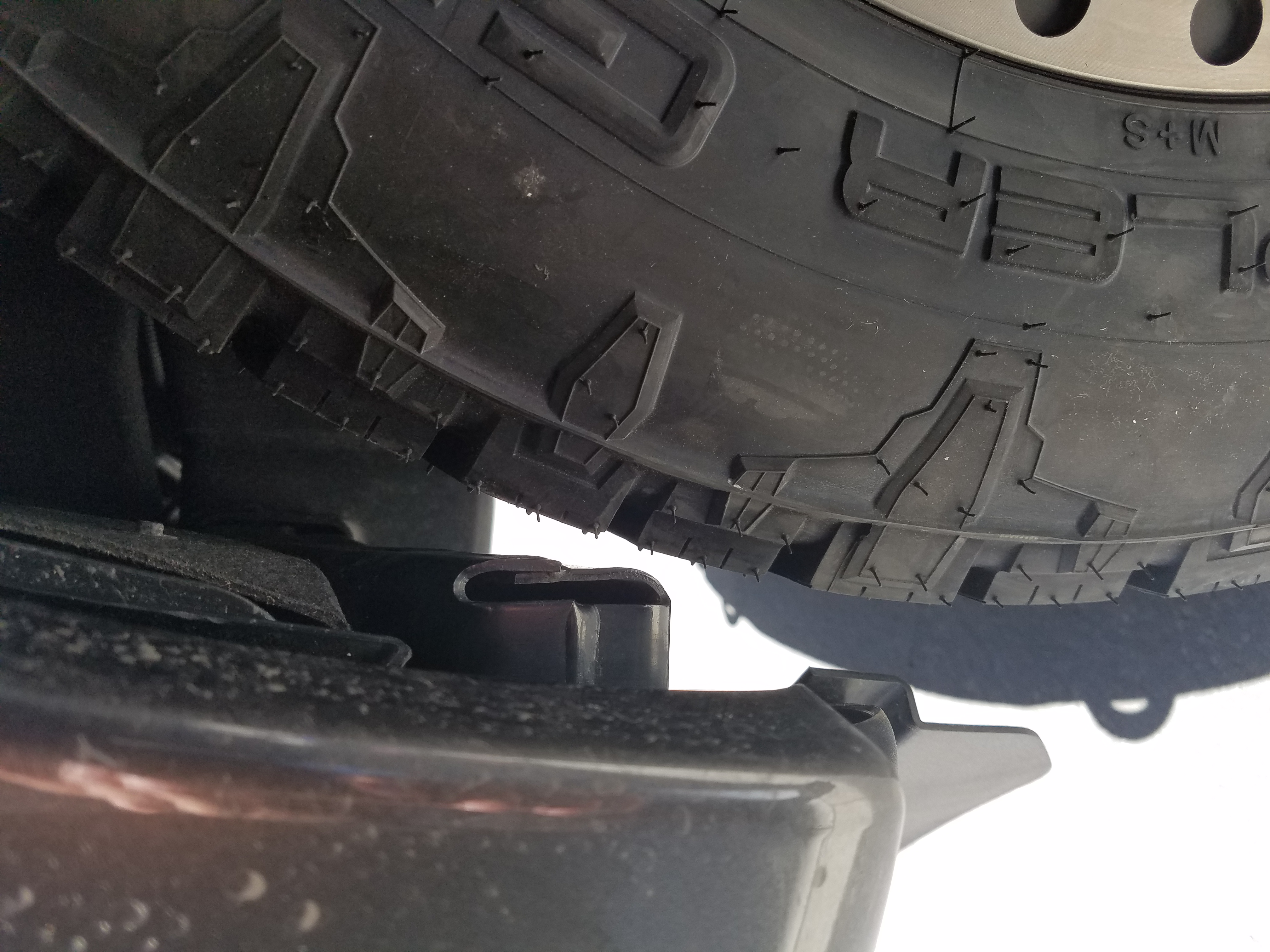 Max Tire Size With  Inch Level Page   Ford F