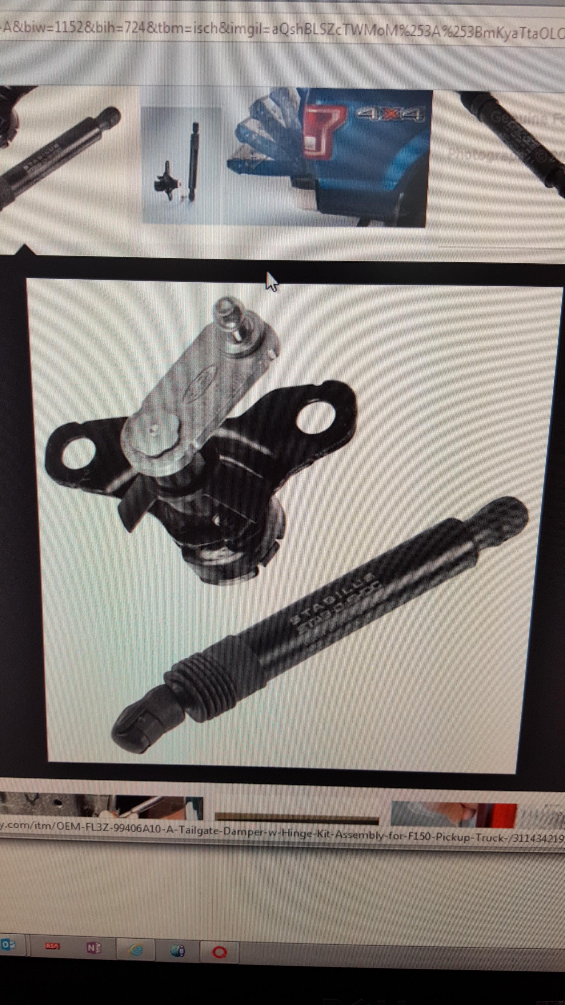 Ford Trailer Backup Assist >> Ford OEM Tailgate-Damper-Assist FL3Z-99406A10-A