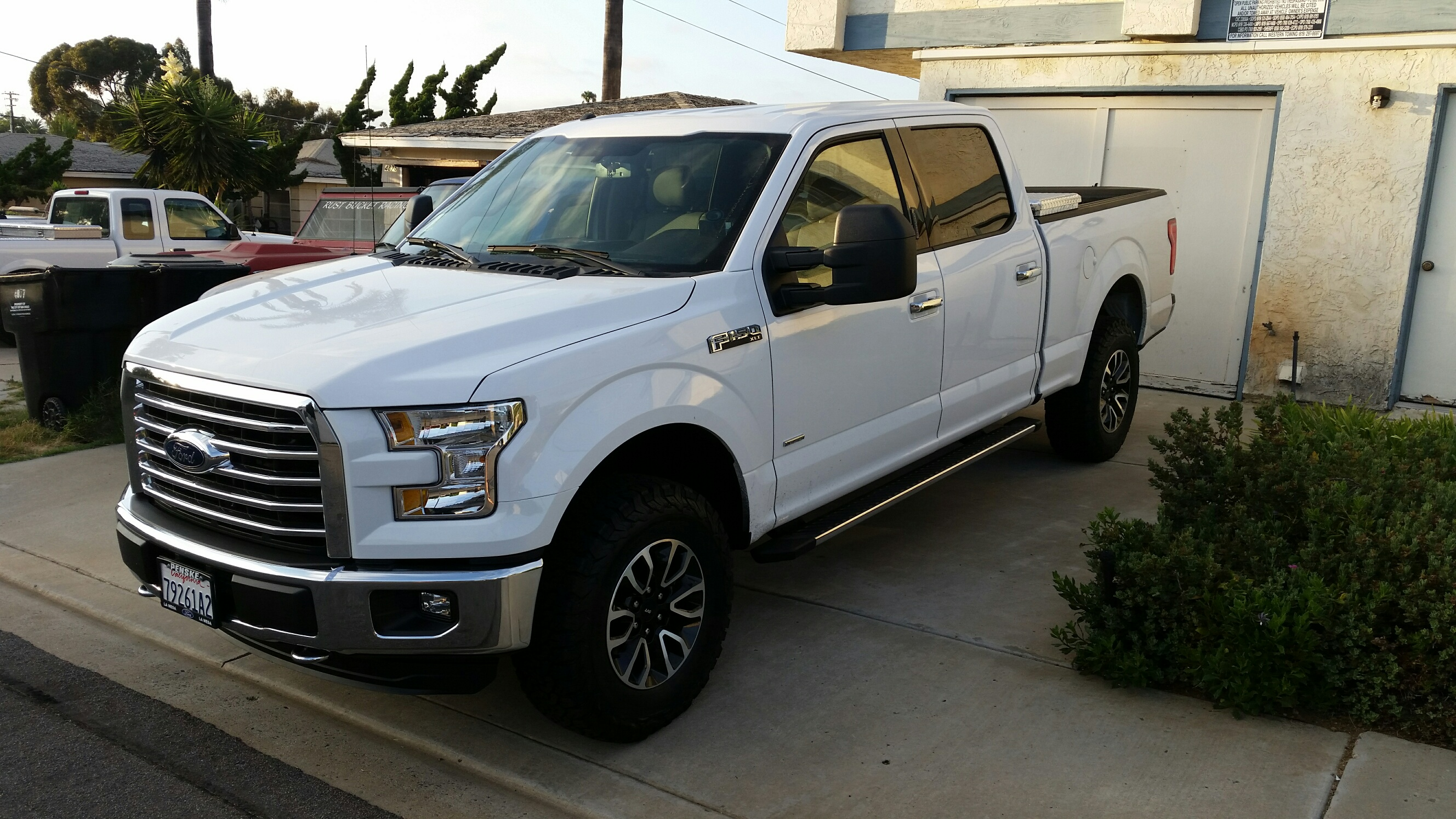 2016 2.7 with raptor wheels