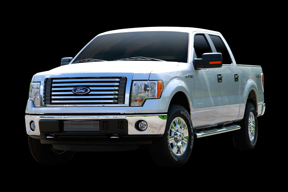 ecoboost f150 grille options - billet and mesh