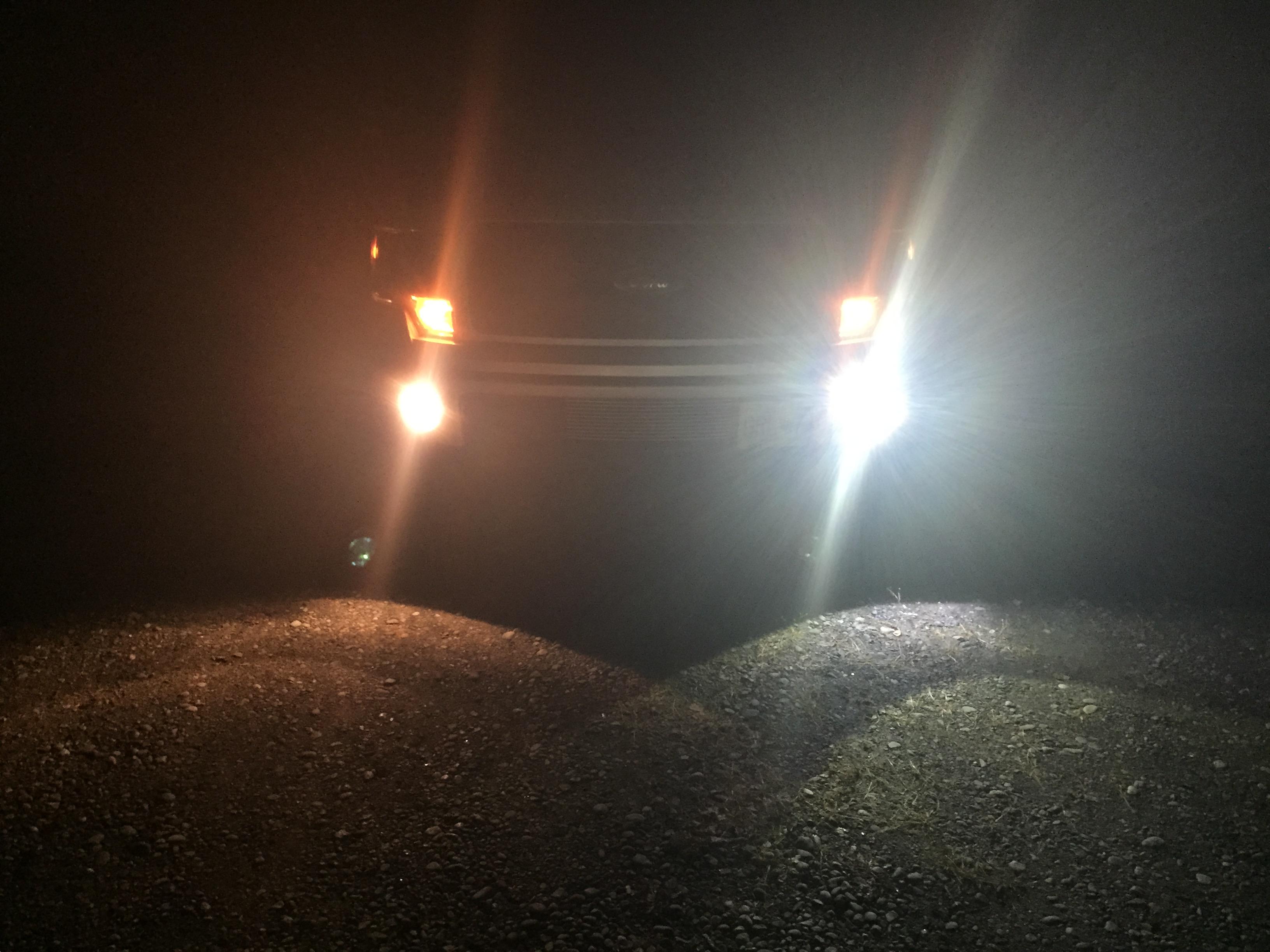 Vleds Led Fog Light Install