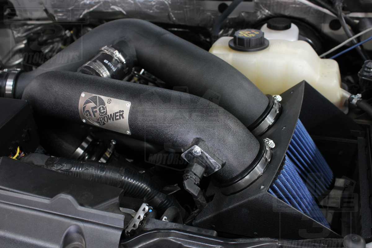 D F Ecboost L Cold Air Intake Options Afe Airaid K N Bully Dog Afe Intake Completed Install
