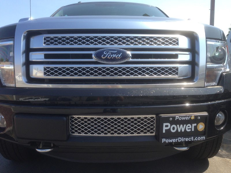 New EcoBoost Intercooler Protector Lower Bumper Grille ...