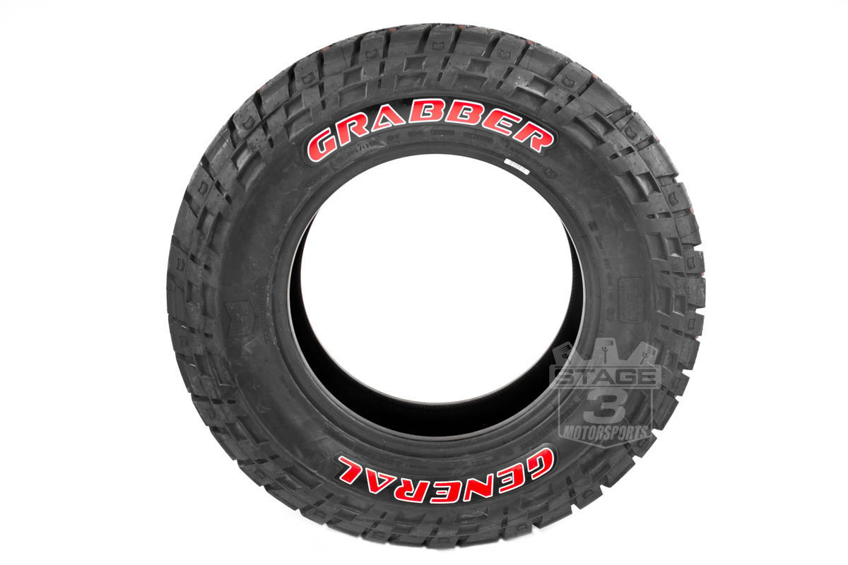 red letter tire set 35 12 50 20 general grabber red letter tire ...