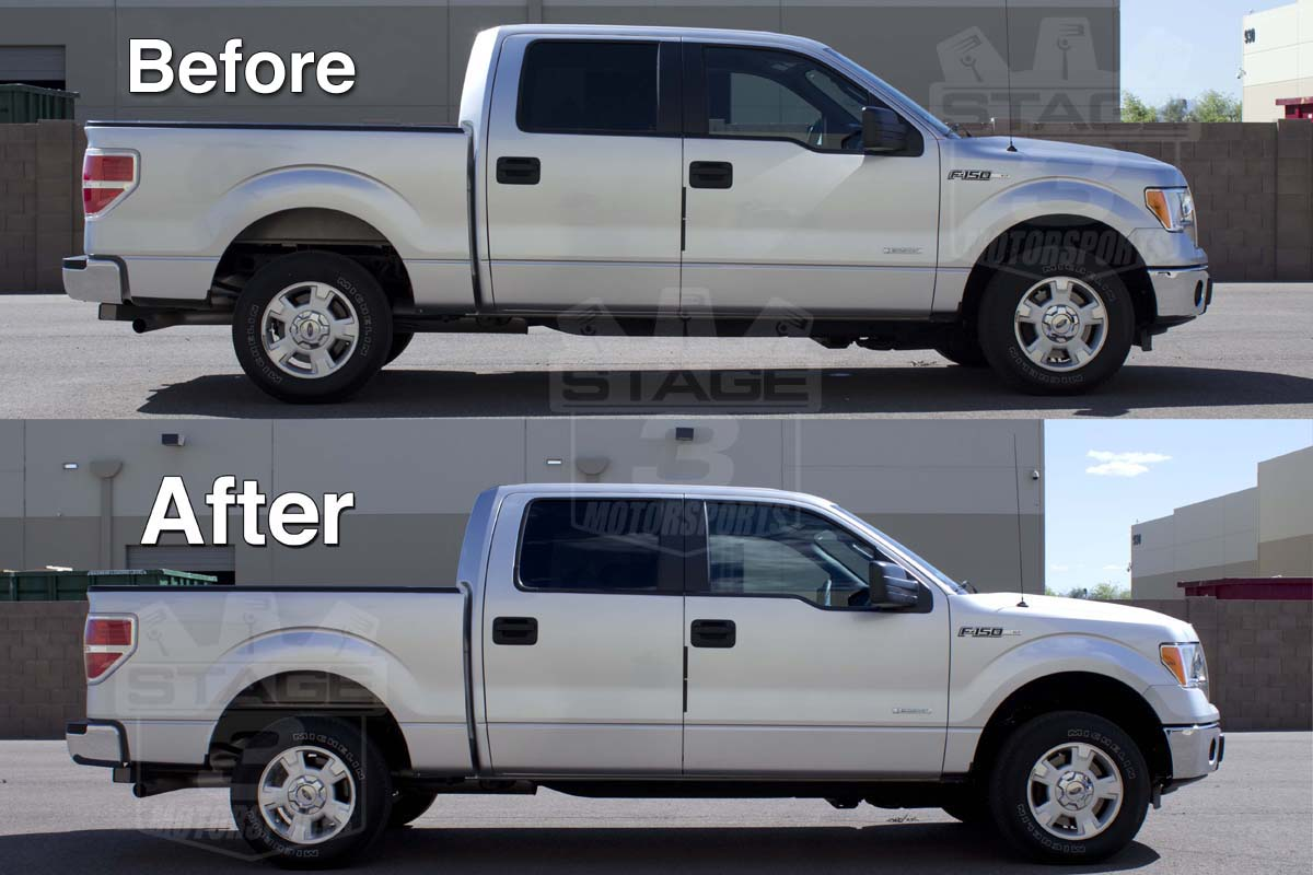 2009 2013 F150 Daystar 2 Inch Leveling Kit Installed On 2wd Ecoboost