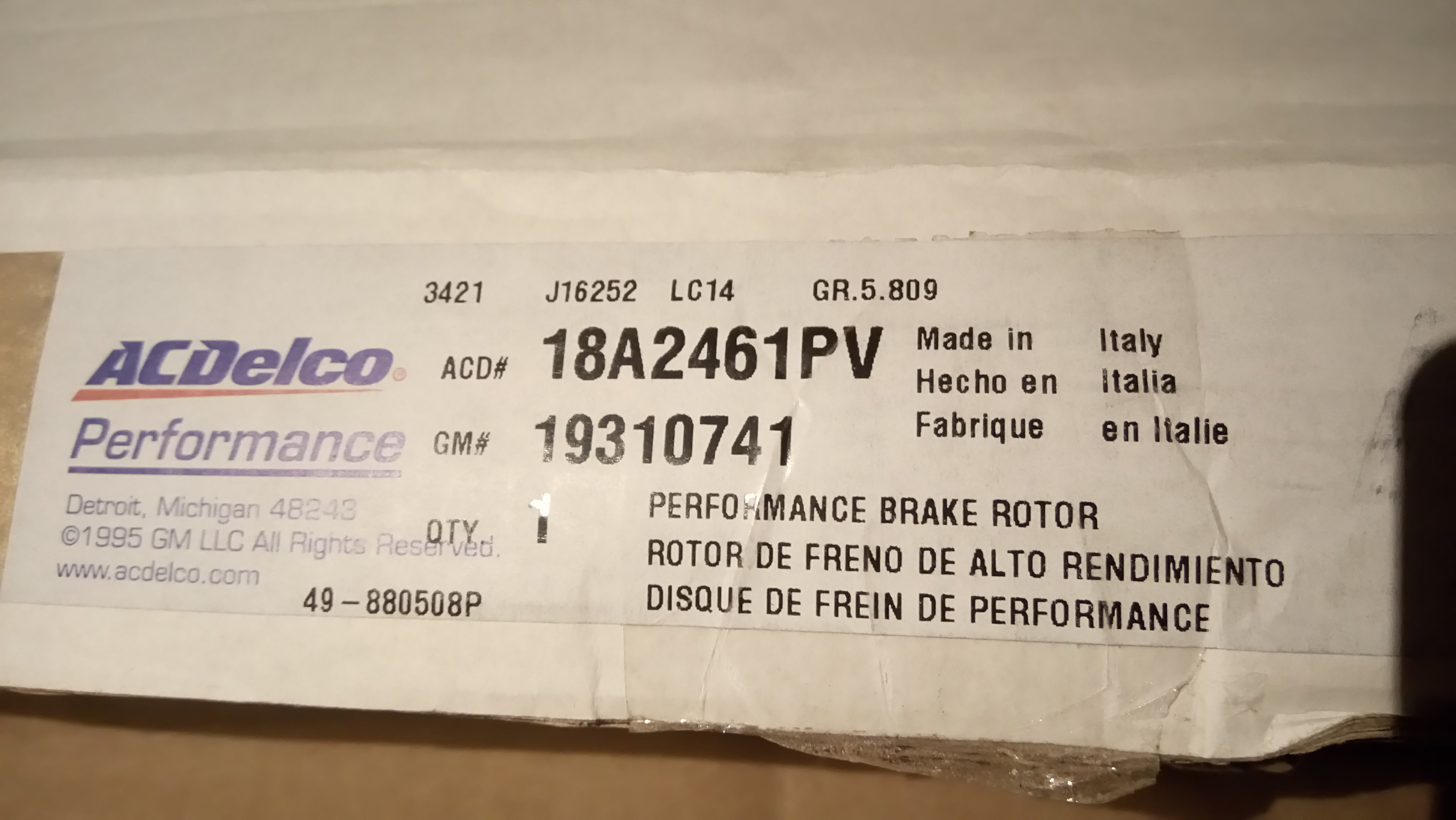 Not all rotors are made in China