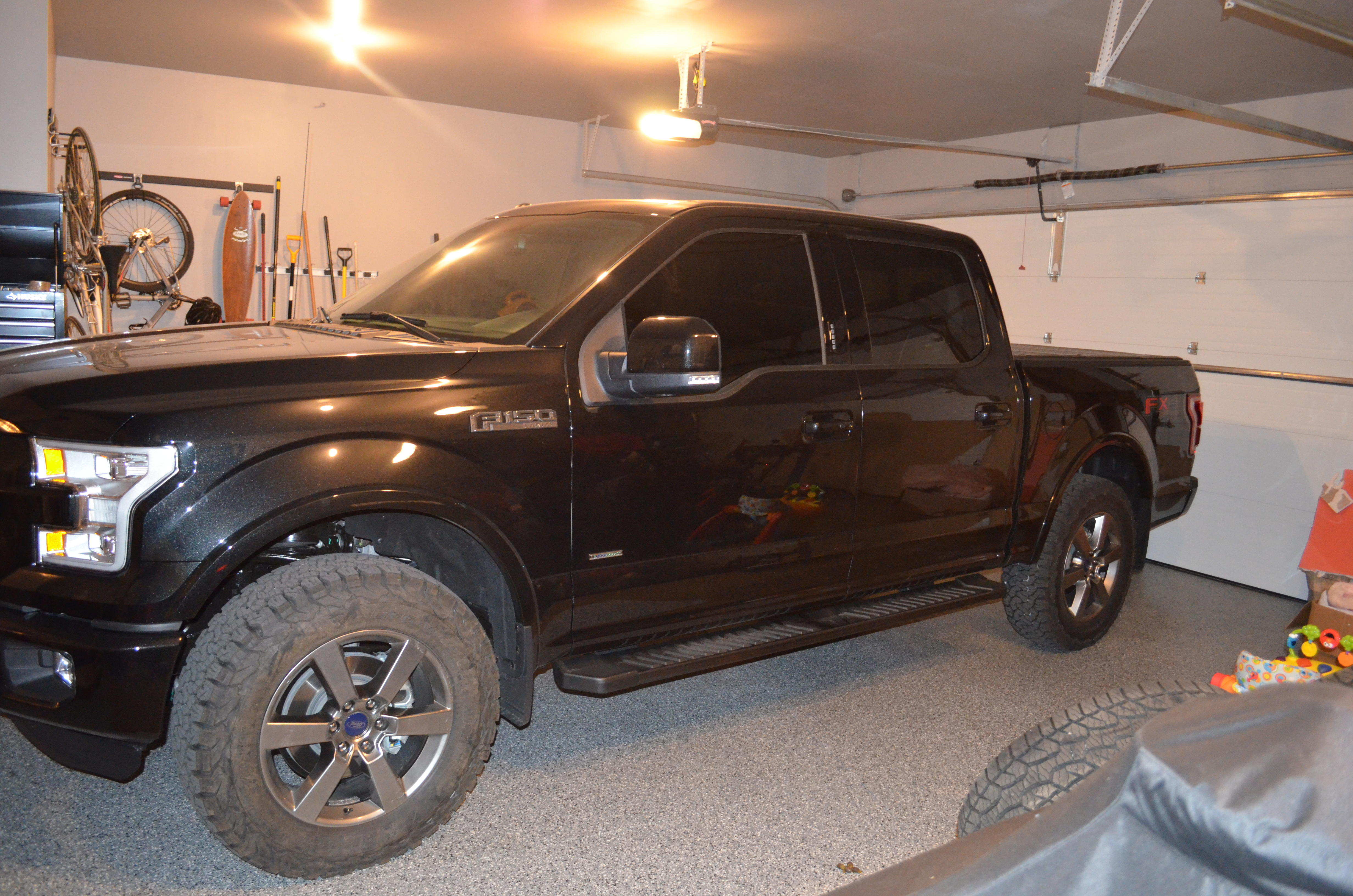 tires 35 inch lift lariat kit f150 ford ready am