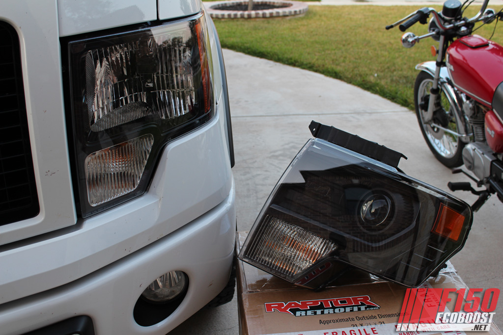 2013 Ford F150 Headlight Conversion Done Thanks To