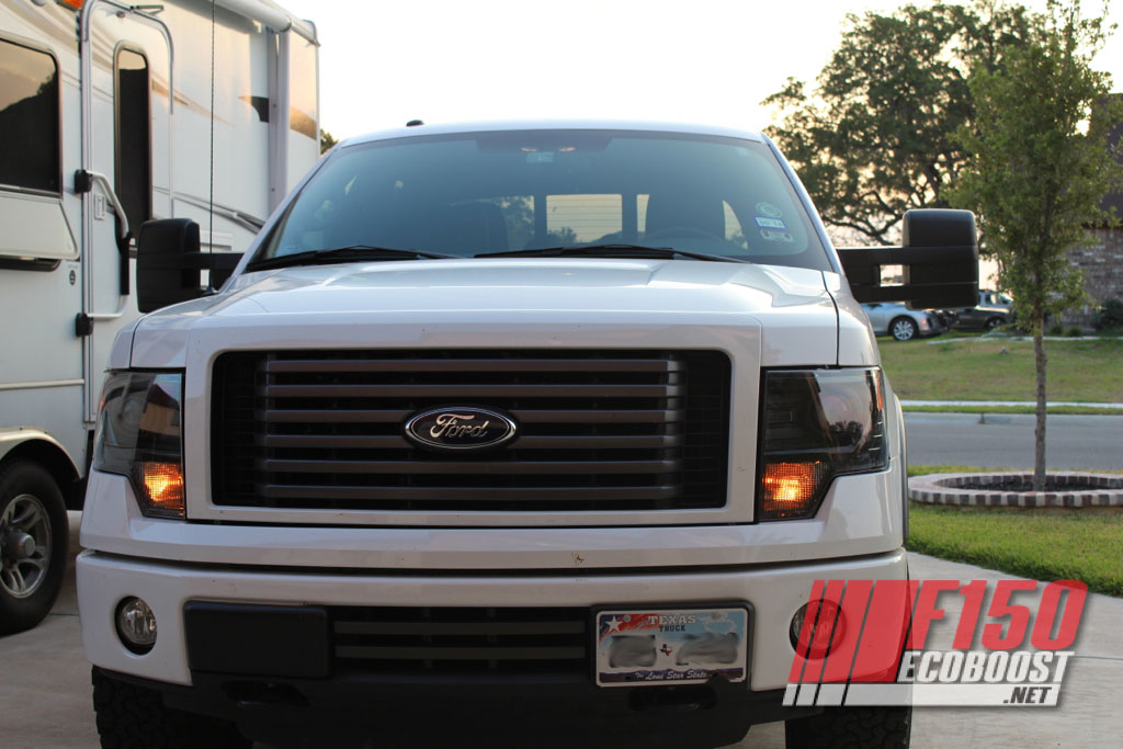 2013 F150 Headlights >> 2013 Ford F150 Headlight Conversion.. Done - Thanks to ...
