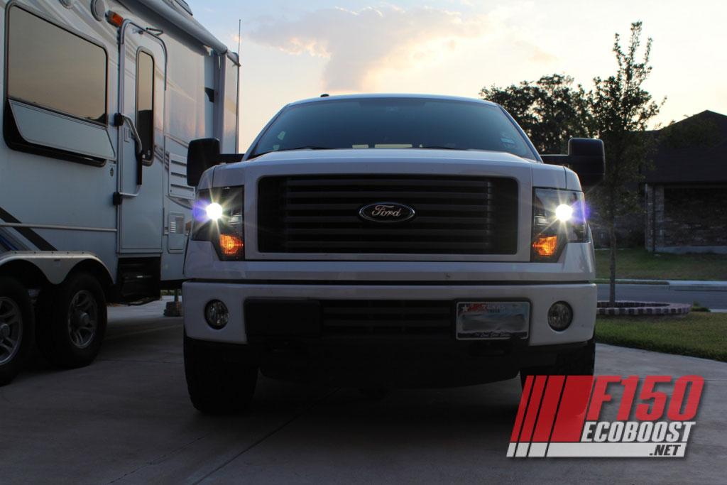 2013 Ford F150 Headlights >> 2013 Ford F150 Headlight Conversion.. Done - Thanks to Raptor Retrofit!