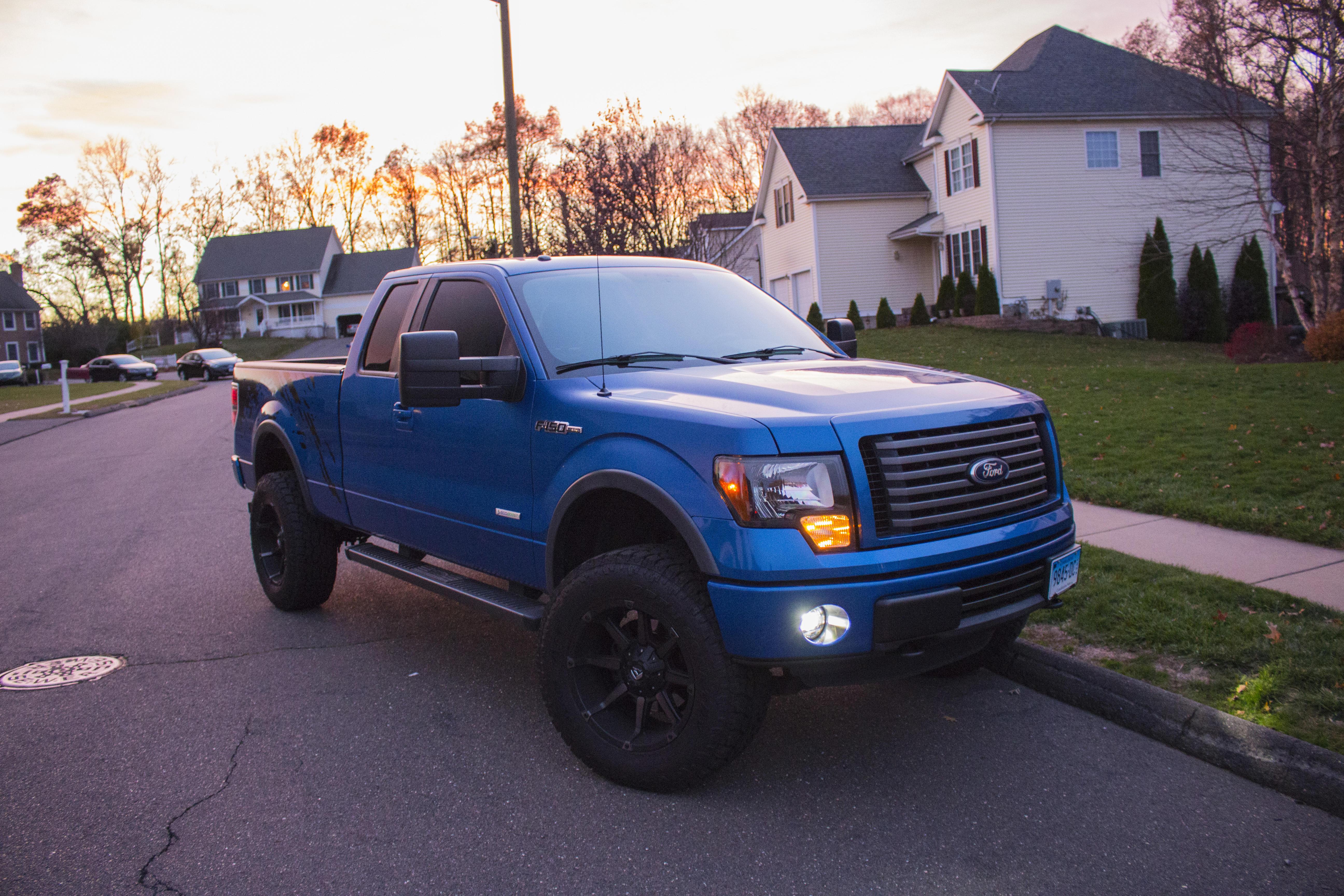 2011 Blue Flame Metallic FX4 Build