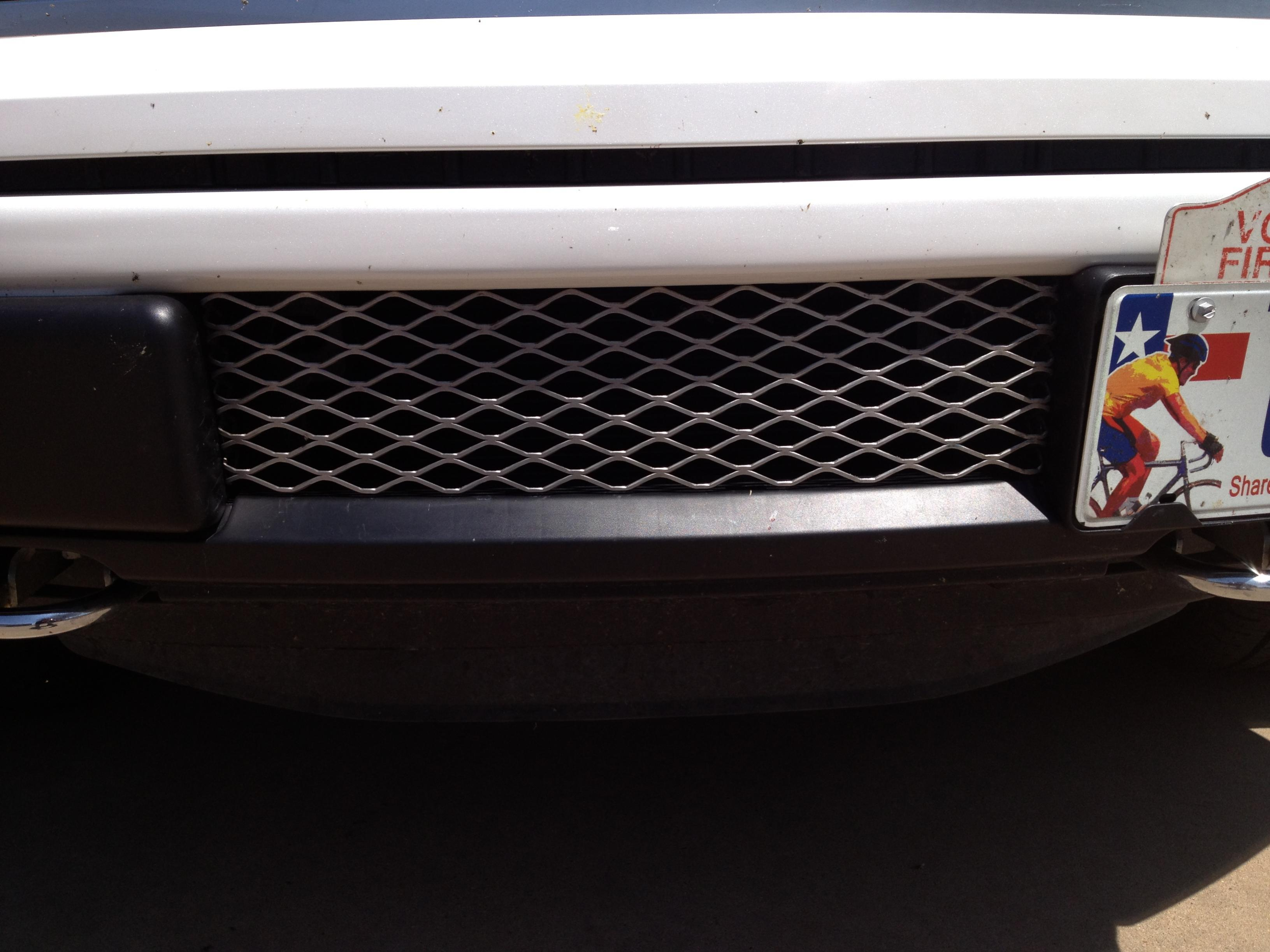 BUMPER BILLET GRILL INSERT - Protects Your Ecoboost ...