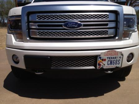 Bumper Billet Grill Insert Protects Your Ecoboost