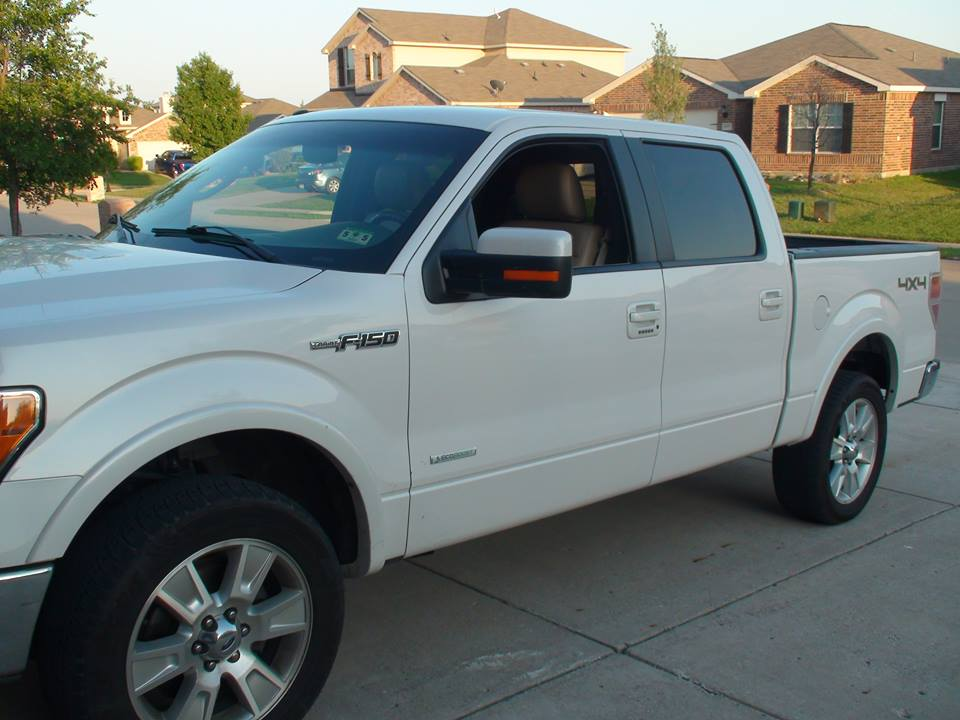 pictures of your customized white trucks please. - Page 2