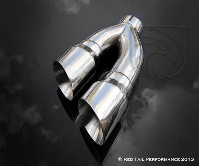 Side Exit Dual Exhaust Tips