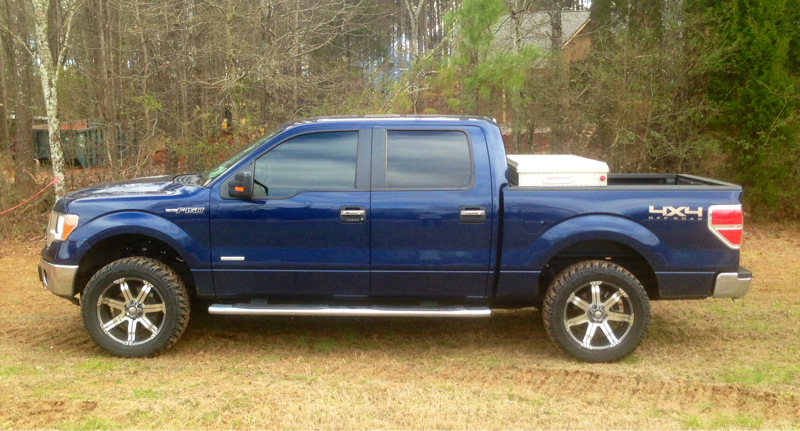 Autospring 2.5 level with 35 inch nitto trail grapplers ...