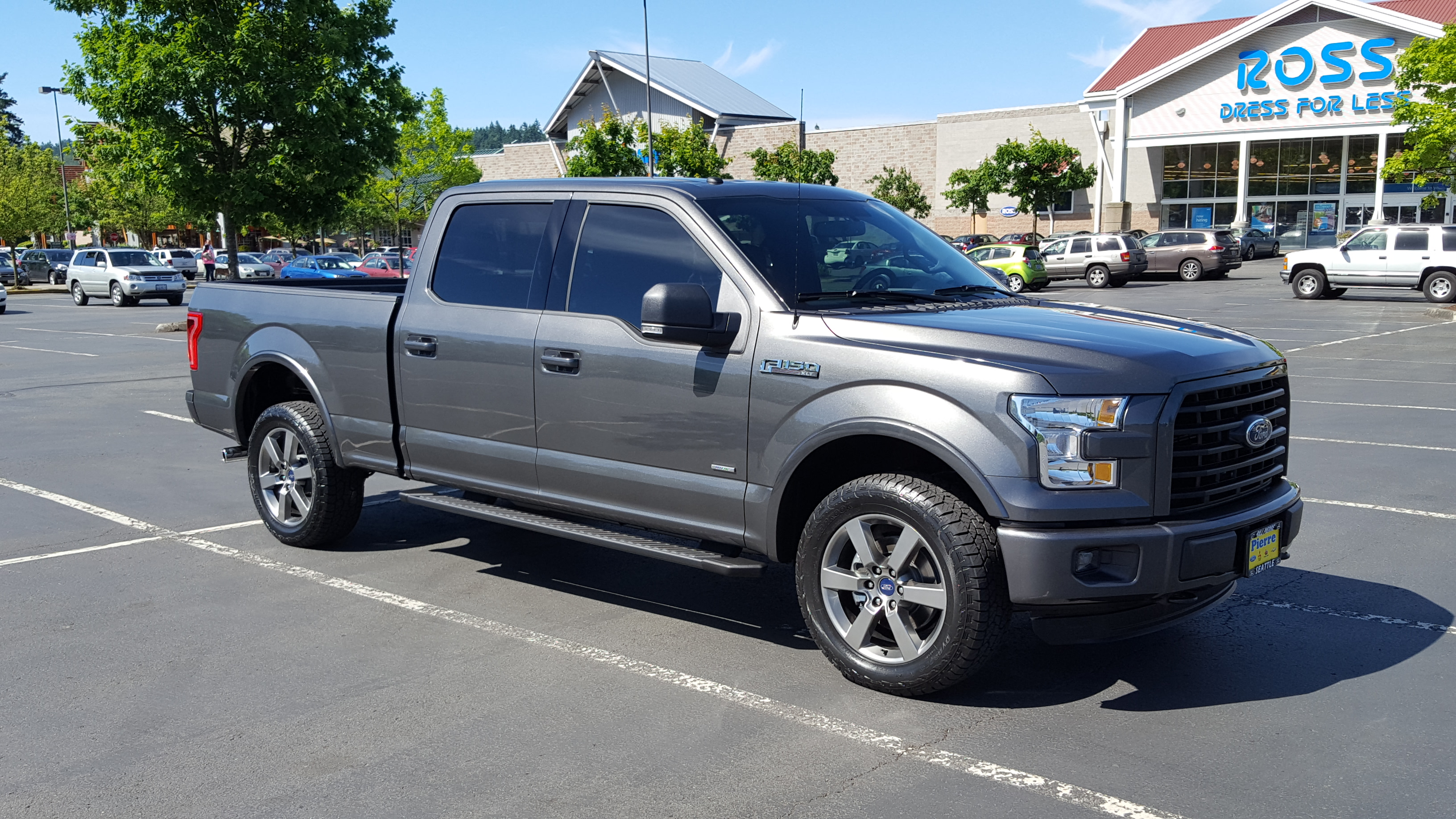 3.5 L Ecoboost >> Matching 2016 Factory tint