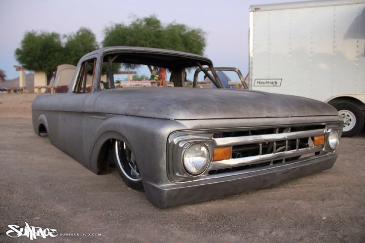 62 Ford F100 Unibody Ecoboost Build