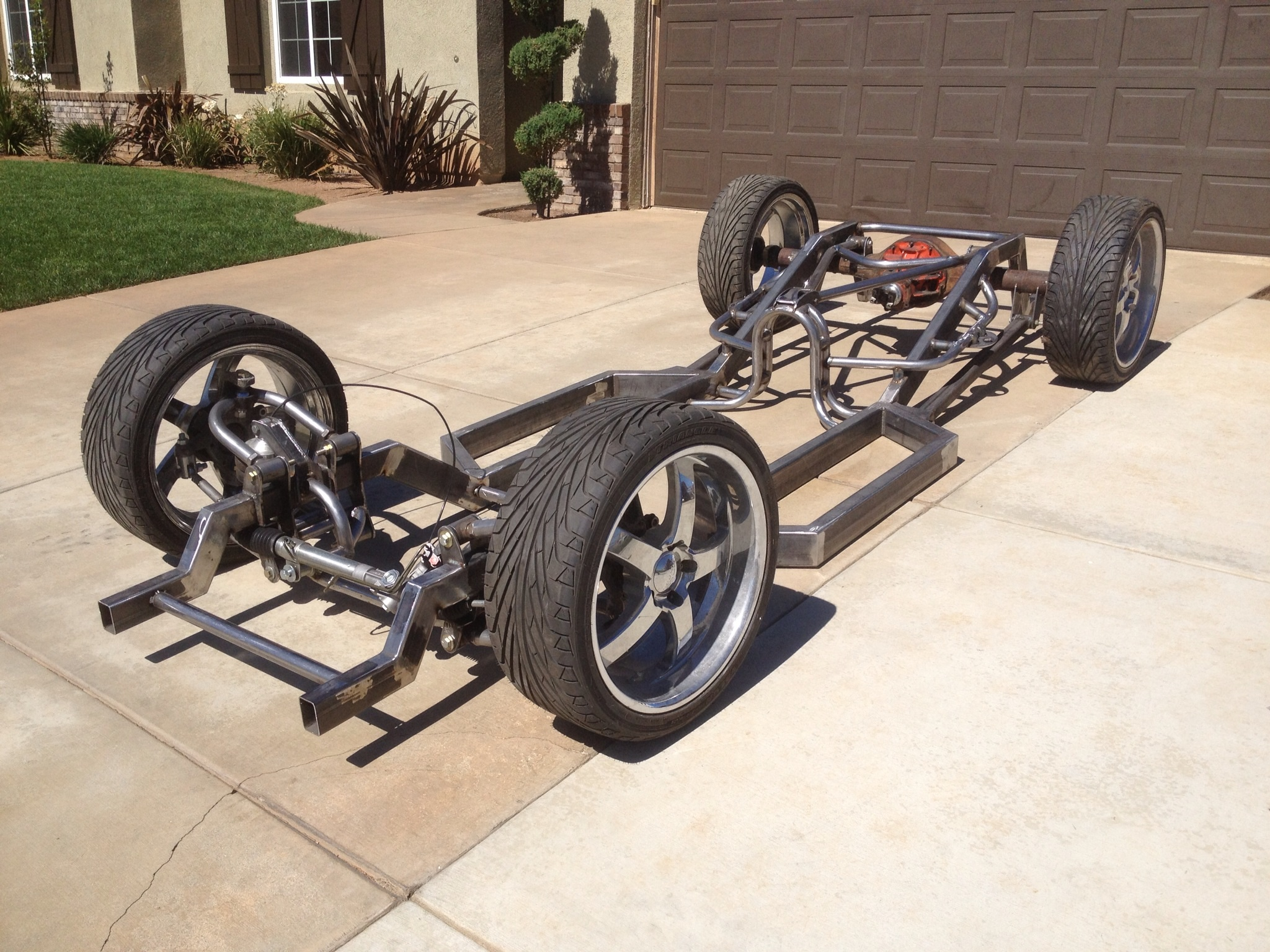 62 Ford F100 Unibody Ecoboost Build 1955 Suspension Swap Attached Images