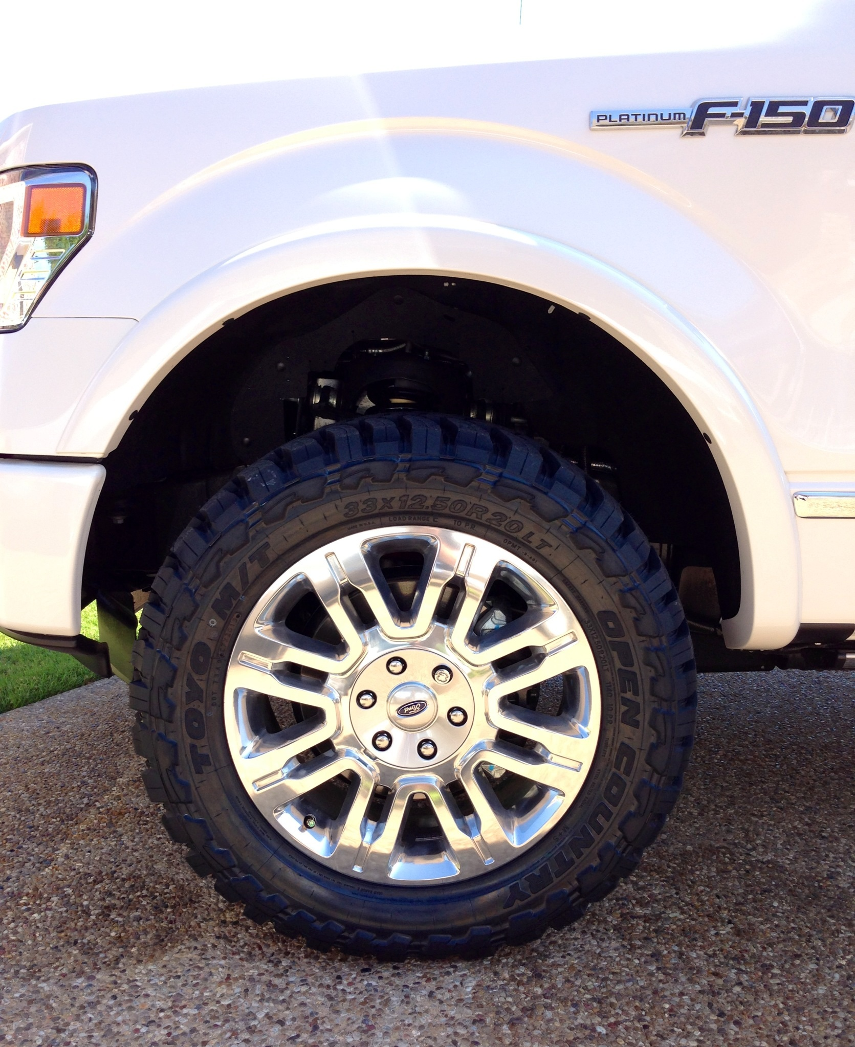 Open Country Tires >> '13 Platinum 4x4 with Rancho Quick Lift & 33x12.5x20 Toyo Open Country MT's