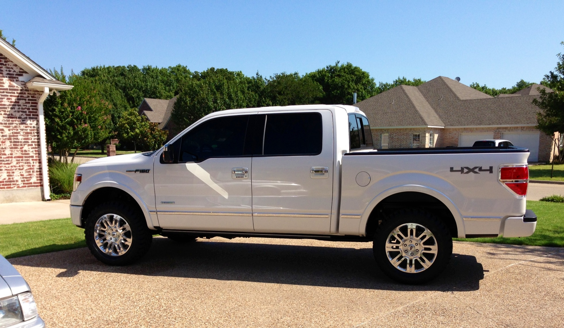 2013 Ford F150 Lifted >> '13 Platinum 4x4 with Rancho Quick Lift & 33x12.5x20 Toyo Open Country MT's