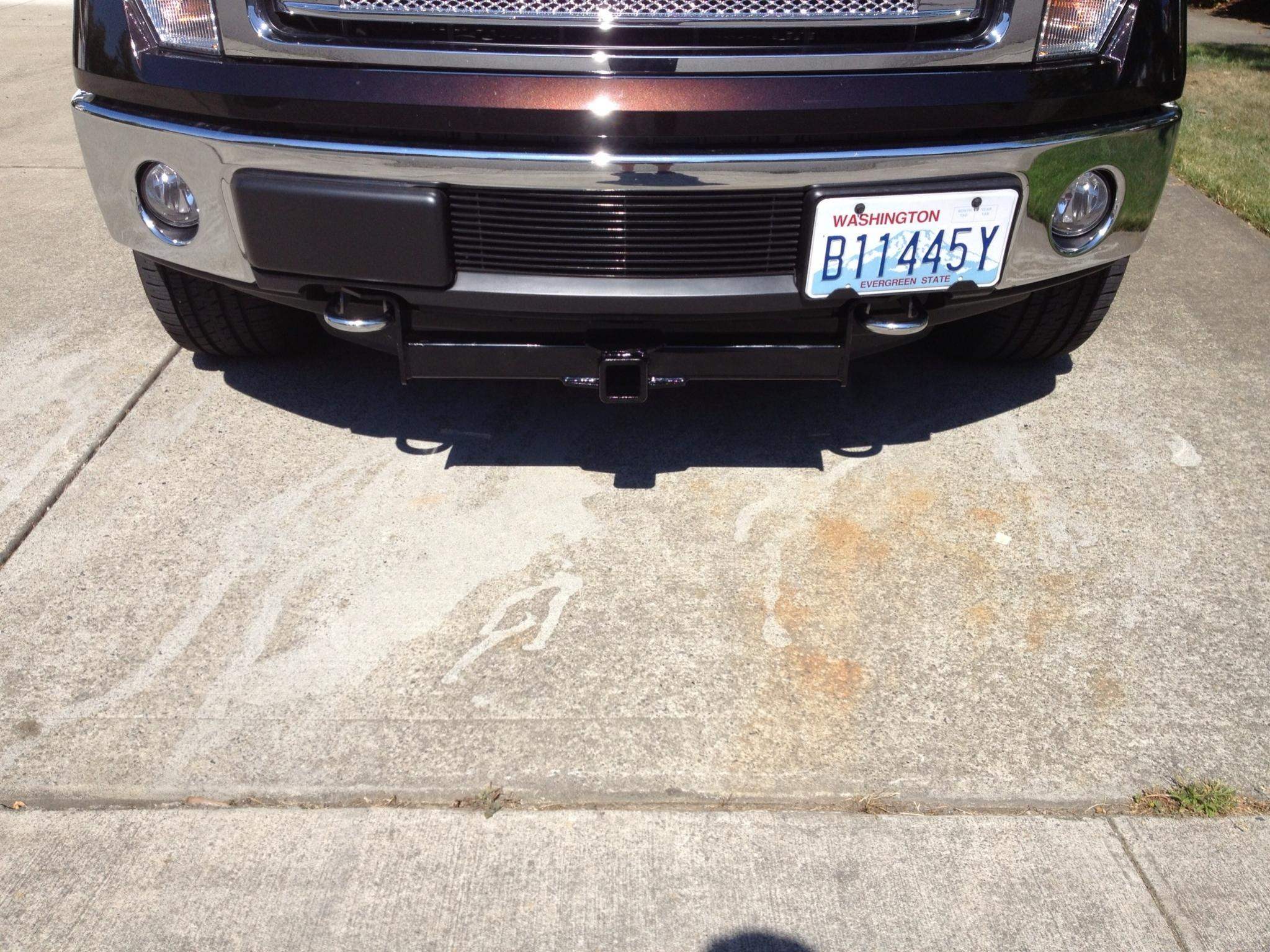 Front receiver hitch