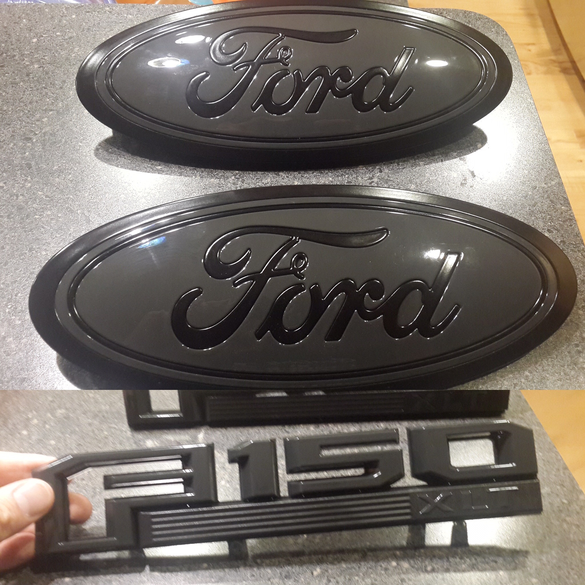 Custom 2018 F 150 >> Custom ford emblems and badges