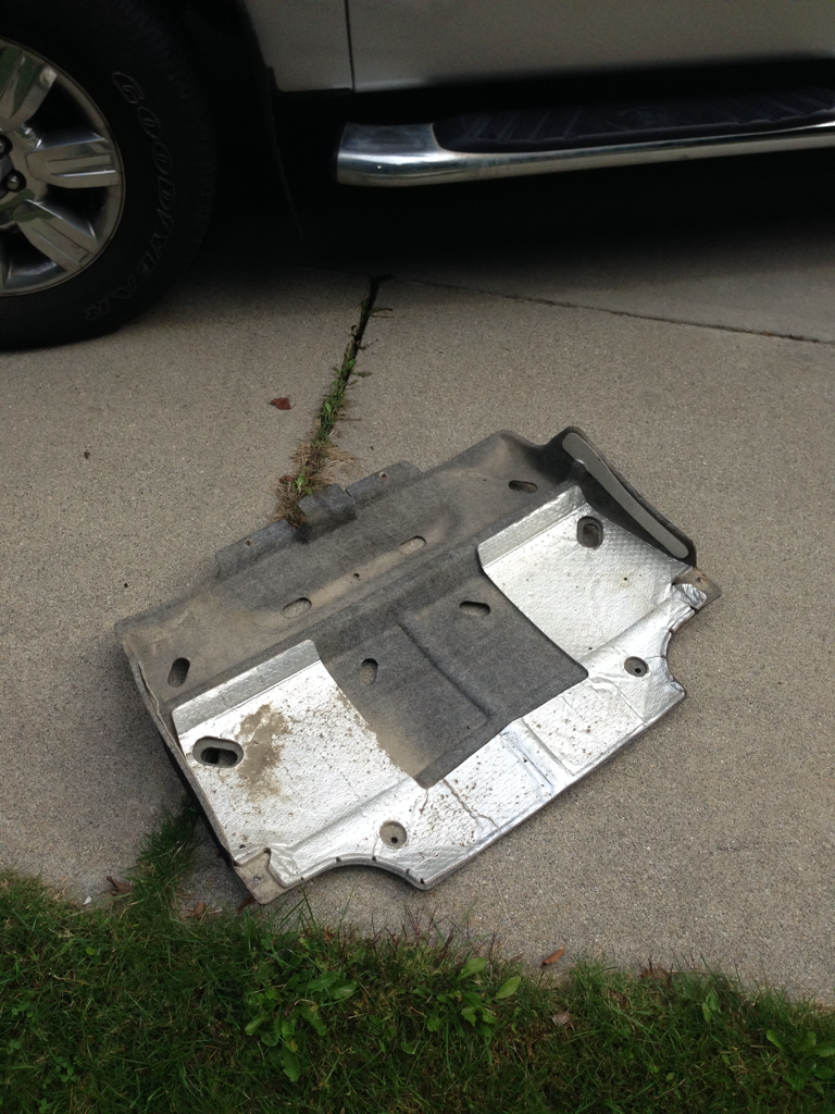 Lost The Skid Plate F150 Ecoboost Forum