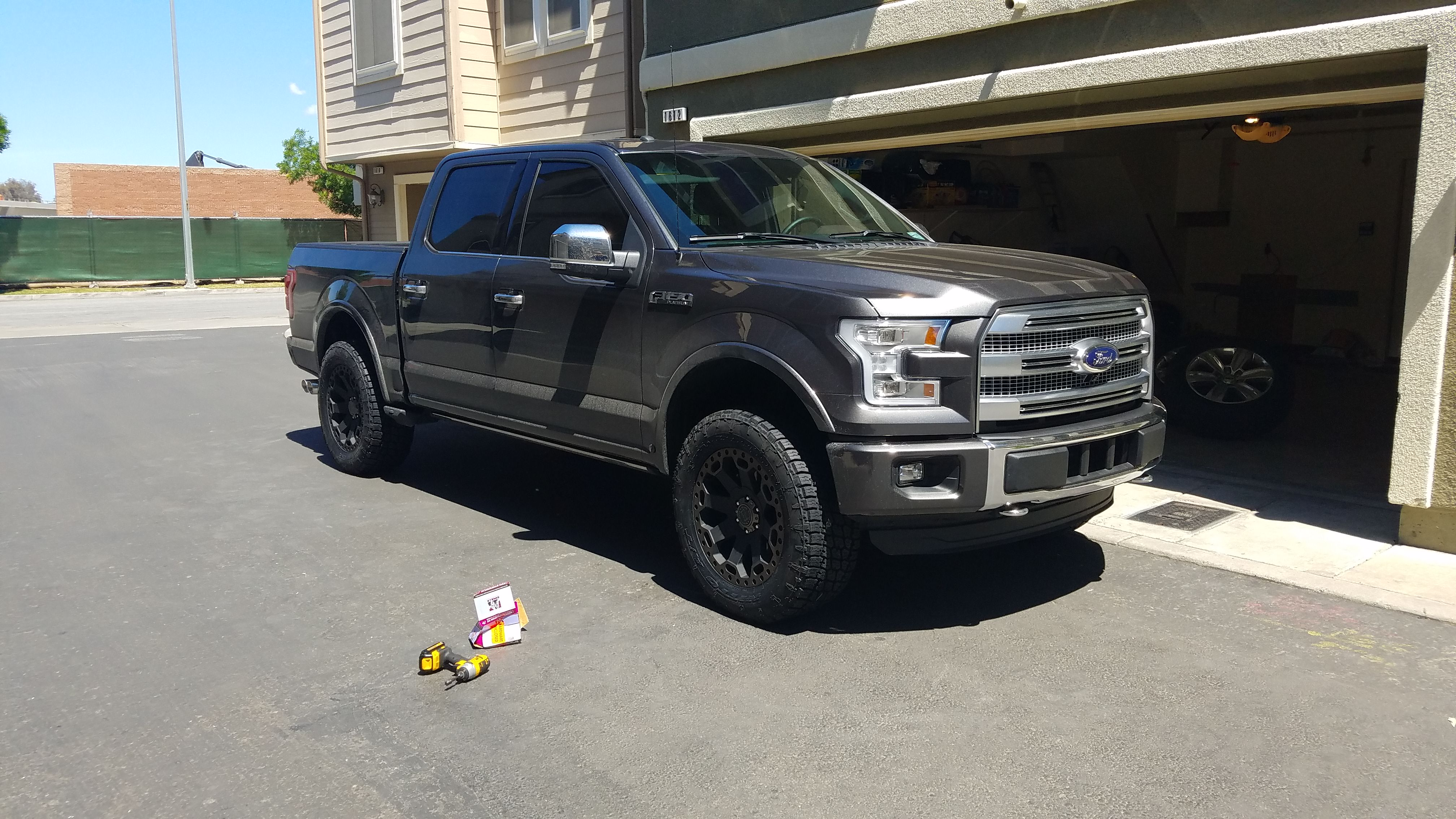 2015 F150 Forum >> 2016 F150 Tire Fitment Issue with 295/60/20