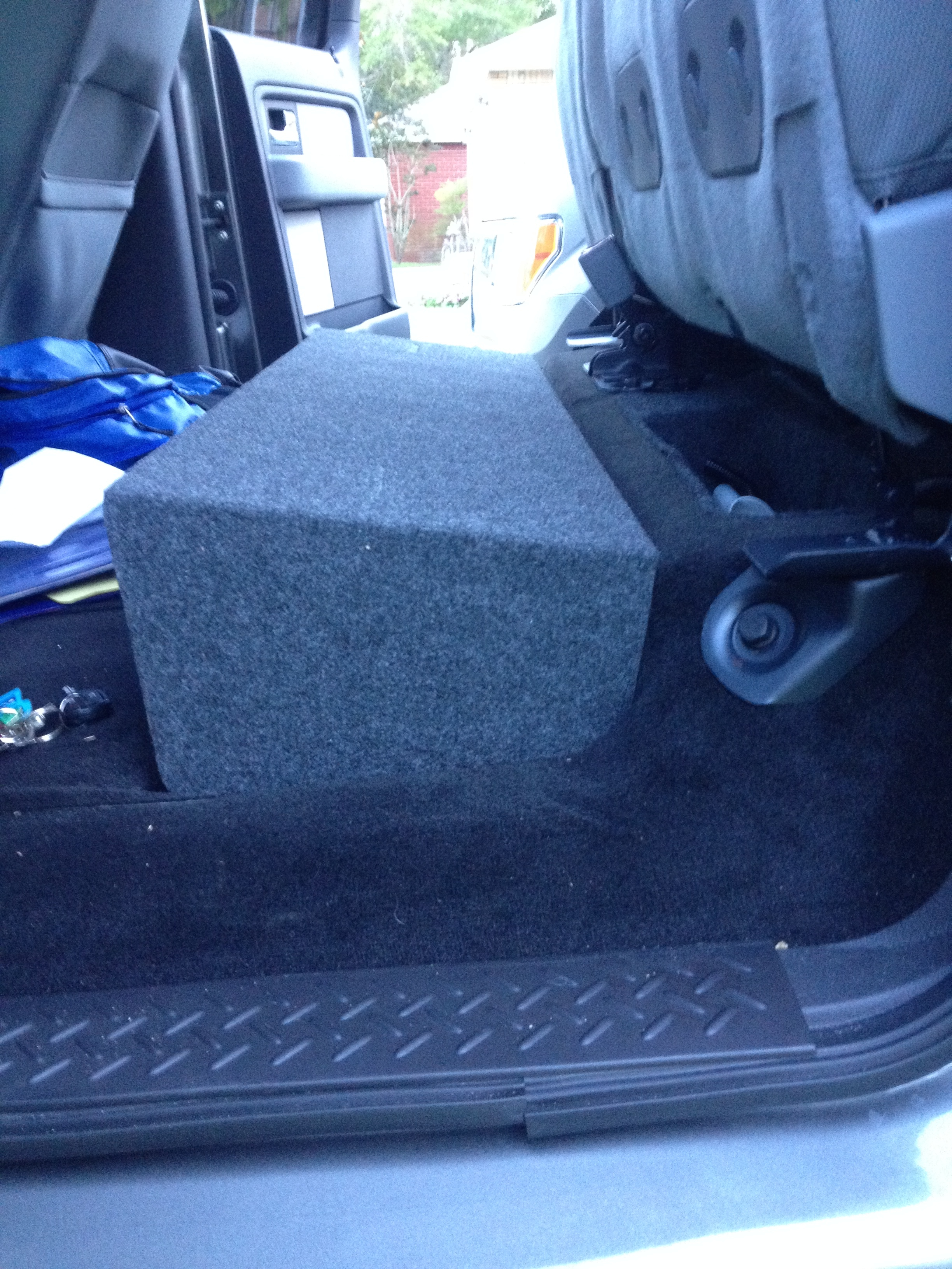 Subwoofer Install With Factory Stereo 13 Supercrew