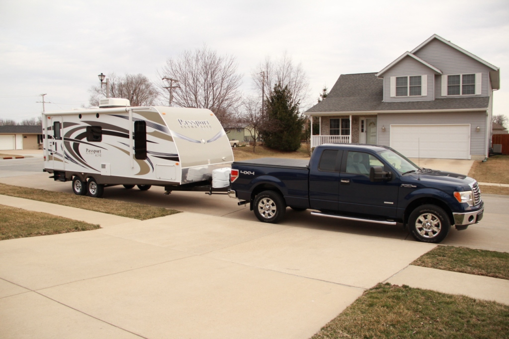 Ford F150 Towing Capacity >> Pics of your F150 EB Towing! - Page 10