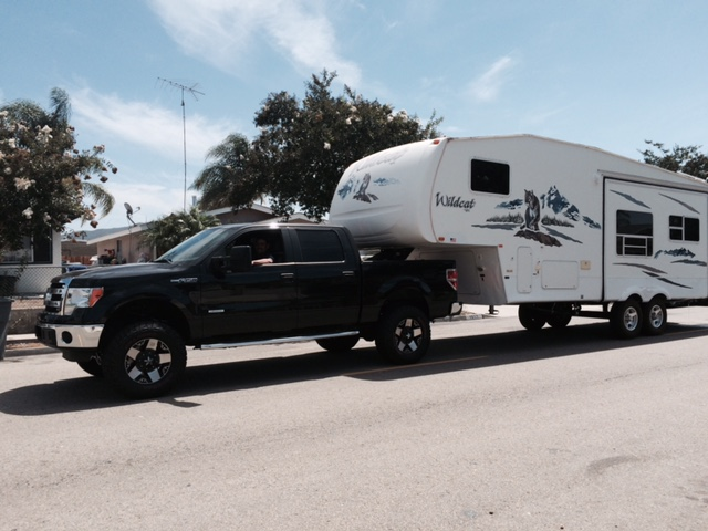 5th Wheel Slider Hitch >> Pics of your F150 EB Towing! - Page 119
