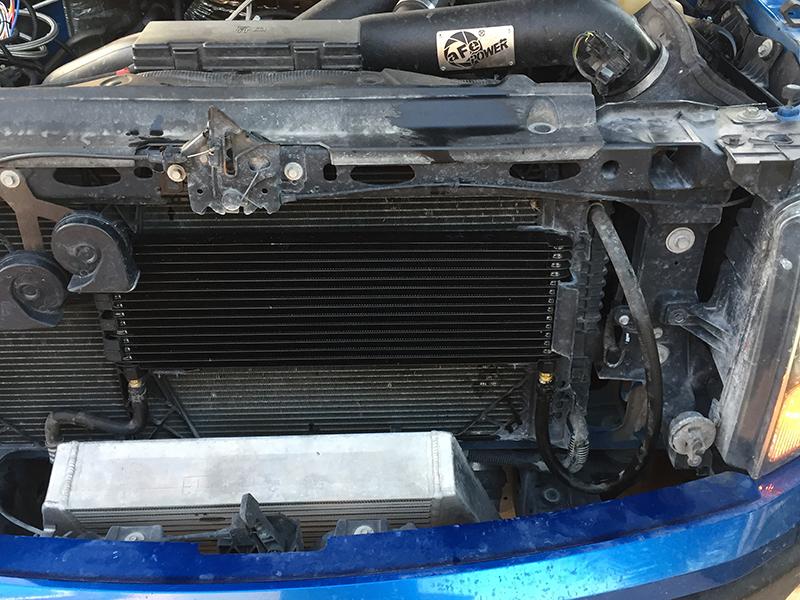 Check Transmission Fluid >> 13 Row Transmission Cooler DIY